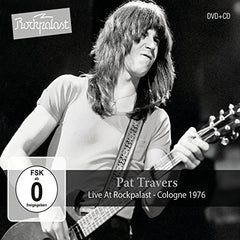 Pat Travers: Live At Rockpalast Cologne 1976 CD/DVD Release Date 3/10/17