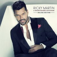Ricky Martin: A Quien Quiera Escuchar CD 2015 Recorded in Australia, Puerto Rico, Los Angeles and Mexico City and produced by Julio Reyes