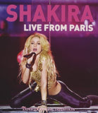 Shakira: En vivo desde París  Live from Paris 2011 CD/DVD 2011 DTS-5.1