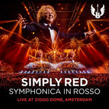 Simply Red: Symphonica In Rosso (Live At Ziggo Dome Amsterdam 2017 (CD/DVD) 2018 Release Date 12/14/18