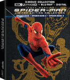 Spider-Man: Trilogy 2002/2004/2007 4k Ultra Blu-ray Digital 3 PC Boxed Set 2017 Release Date 10/17/2017