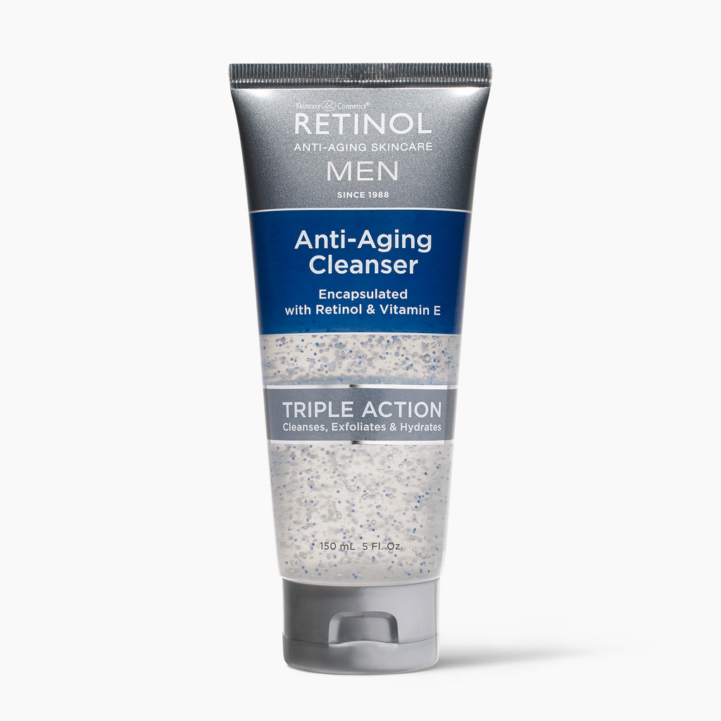 Retinol Men's Gel Cleanser