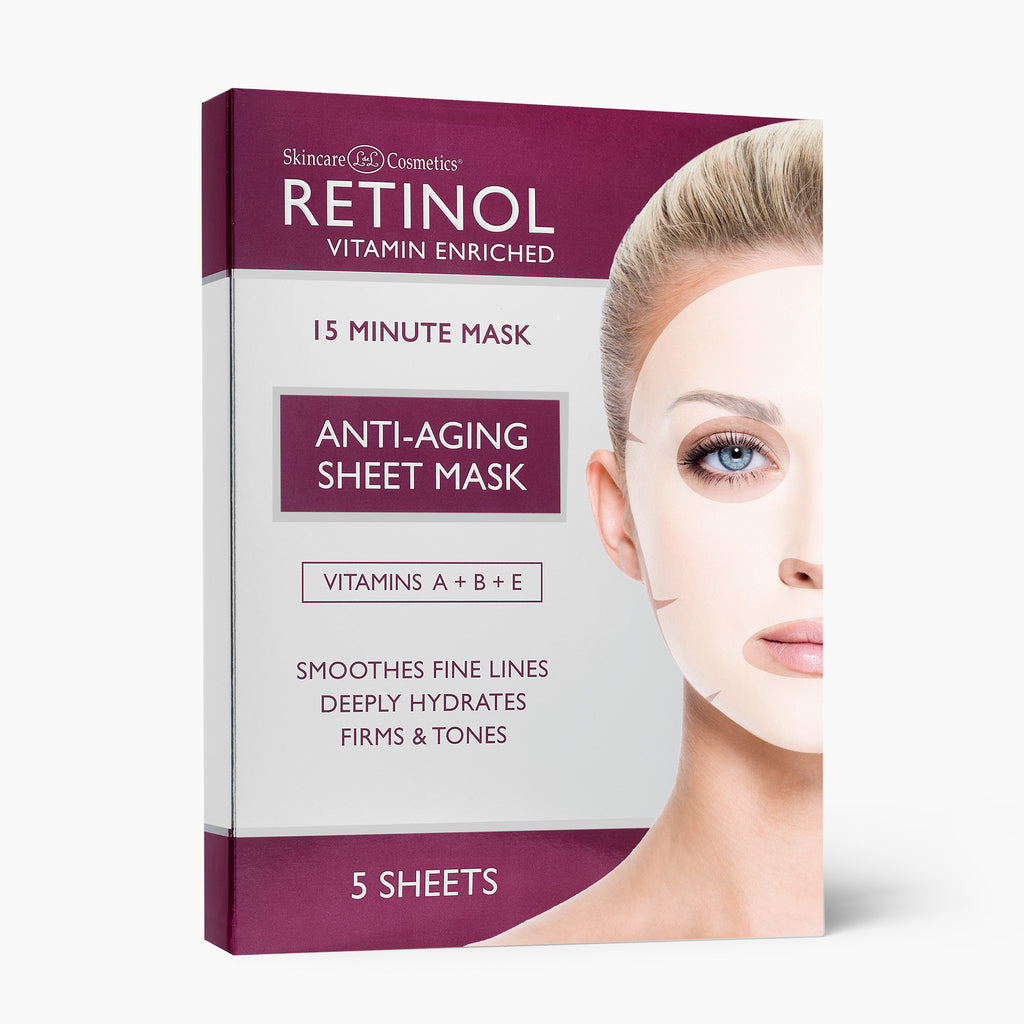 Retinol Sheet Mask (5 Treatments)