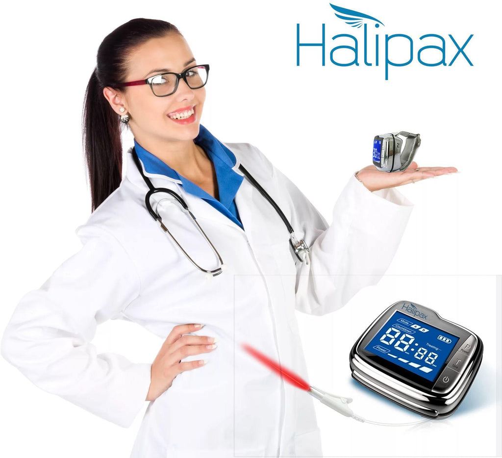 Halipax™ Integrative Medicine Cold Laser Therapy Watch - HALIPAX