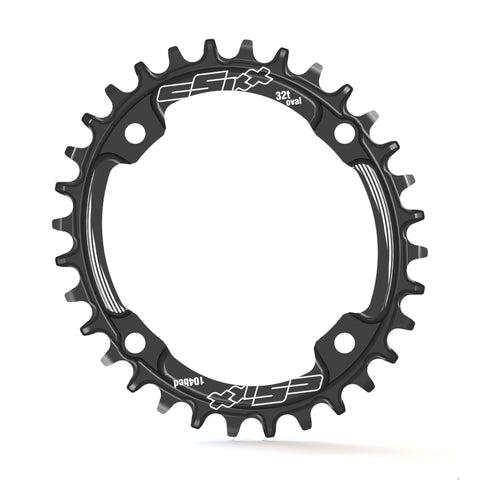 TT Chainring - OVAL - 104BCD