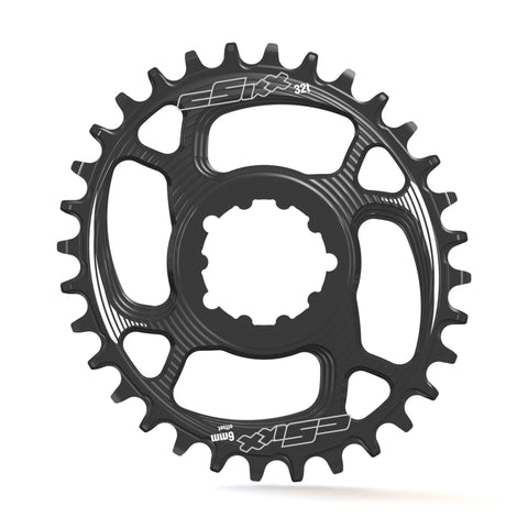 TT Chainring - OVAL - Direct-mount - SRAM 6mm Offset