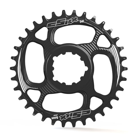TT Chainring - Direct-mount - SRAM 6mm Offset