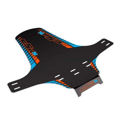 Mudguard Orange - Blue