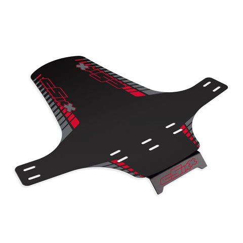 Mudguard Red - Grey