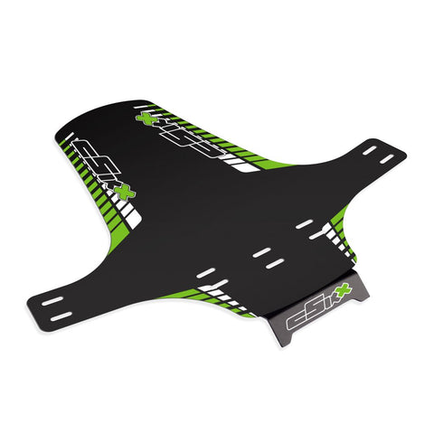 Mudguard White - Green