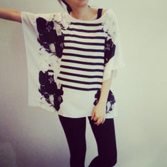 MARQEE digital print loose top