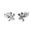 Dazy Swirl Stud Earrings