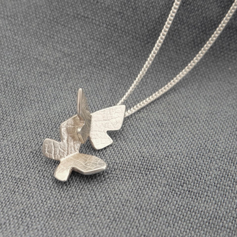 Childs Flutterby Charm Pendant and Chain