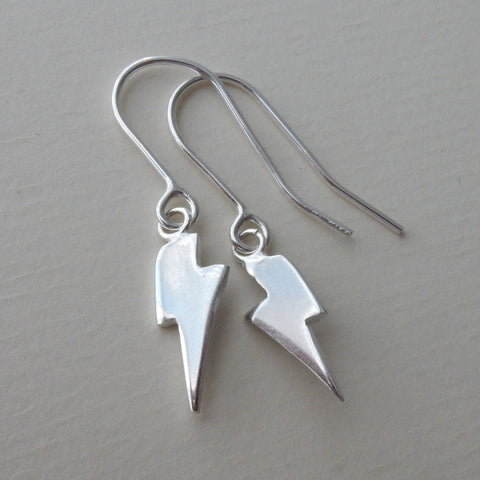 Lightning Bolt Drop Earrings