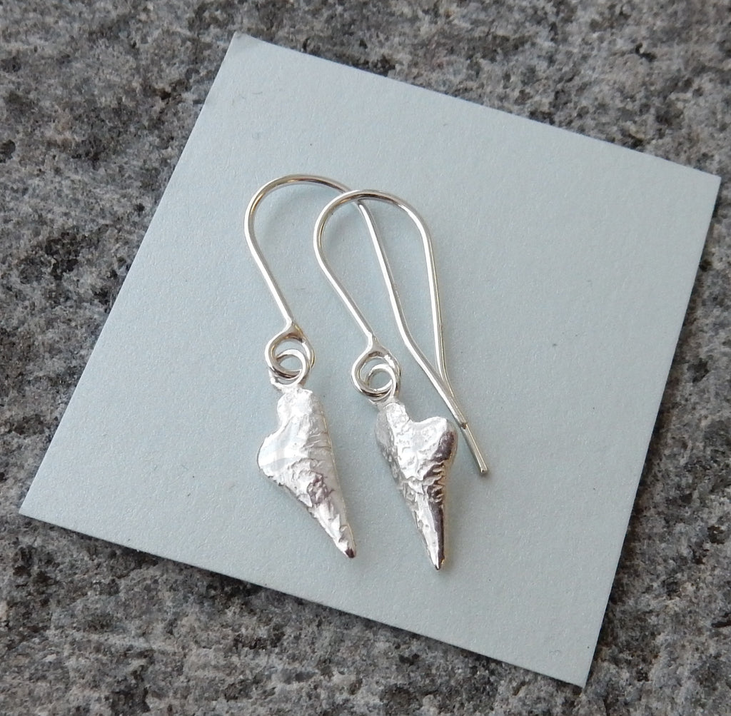 Melting Heart Drop Earrings