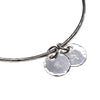 Personalised Bangle with two charms