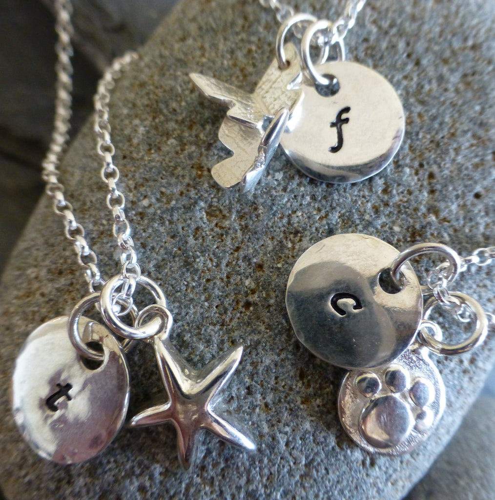 Personalised Two Charm Necklace