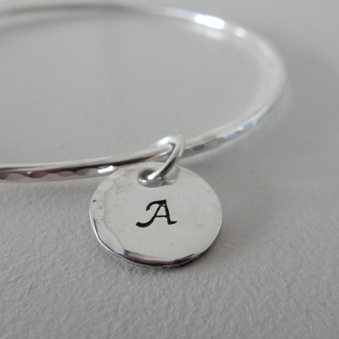 Personalised Bangle - One Charm