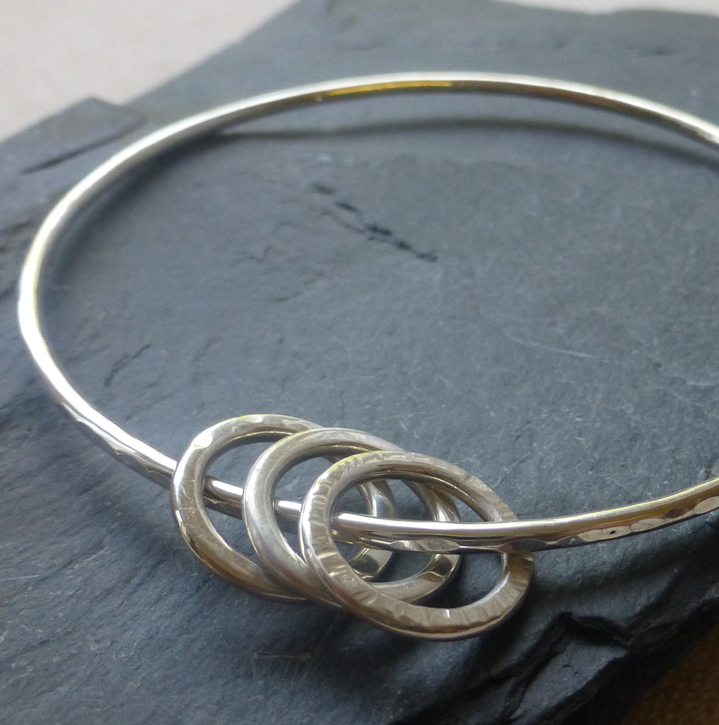 7345de80bbd Anne Reeves Jewellery - Silver Polo Charm Bangle
