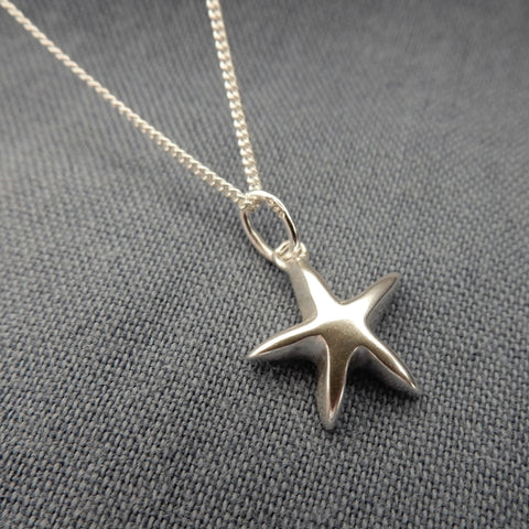 Star Pendant and Chain