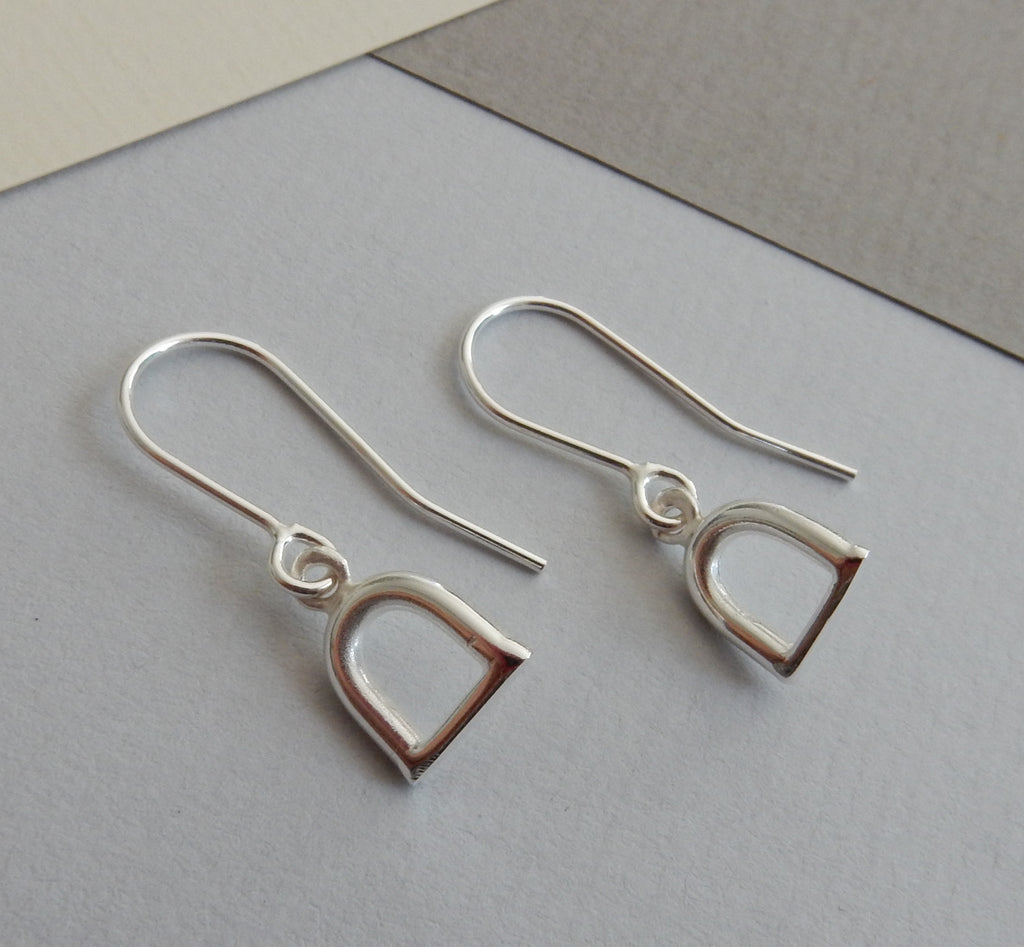 Stirrup Drop Earrings