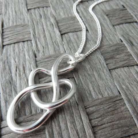 Tangle Pendant and Chain