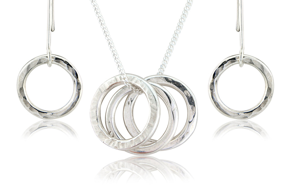 Polo Trio Pendant and Drop Earring Set