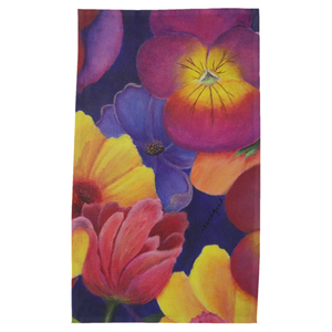 Blume Floral Cotton Tea Towel