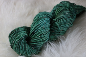 Green Donegal Tweed Yarn