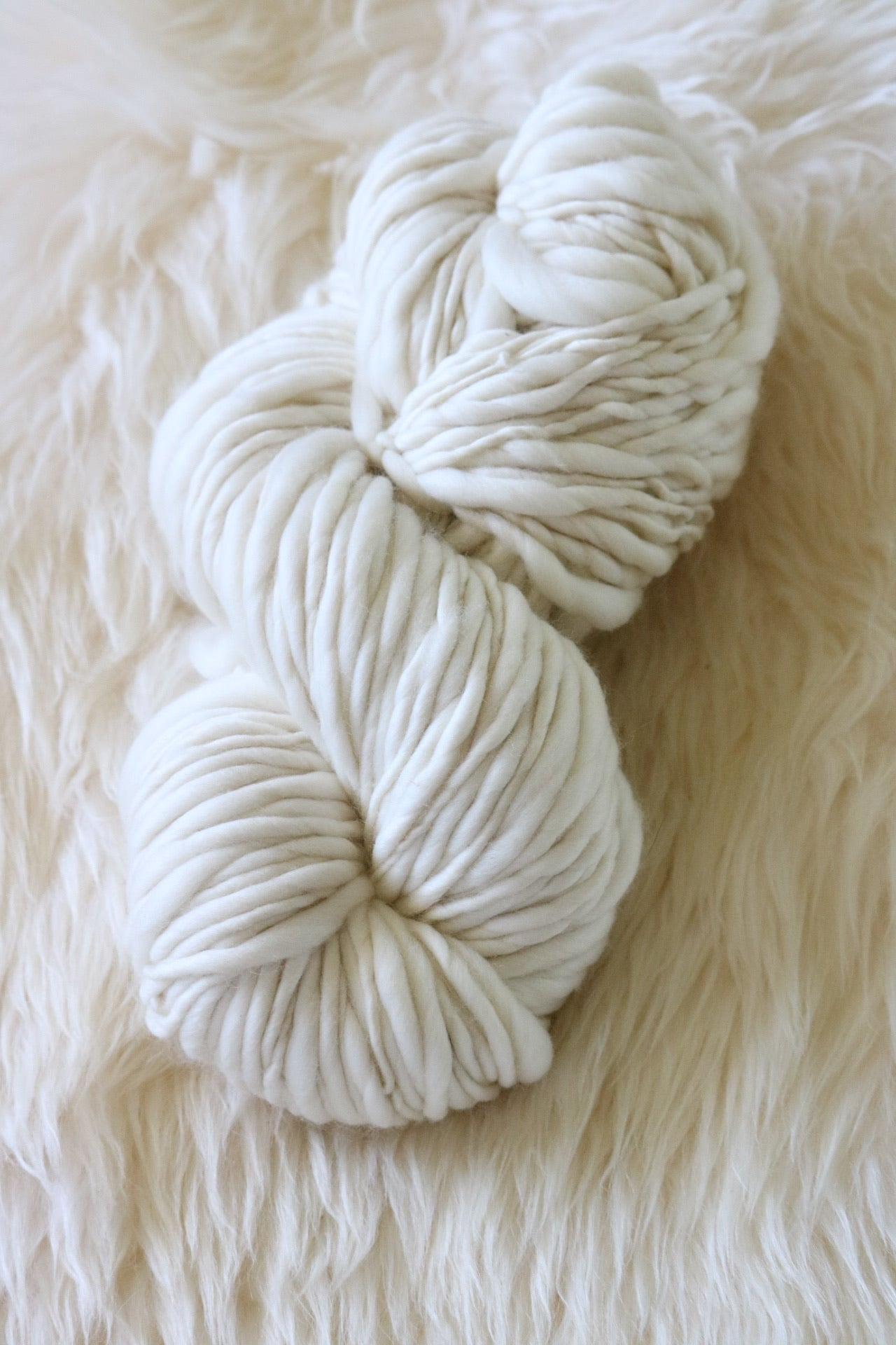 Snowfall Thick & Thin Troelli Yarn