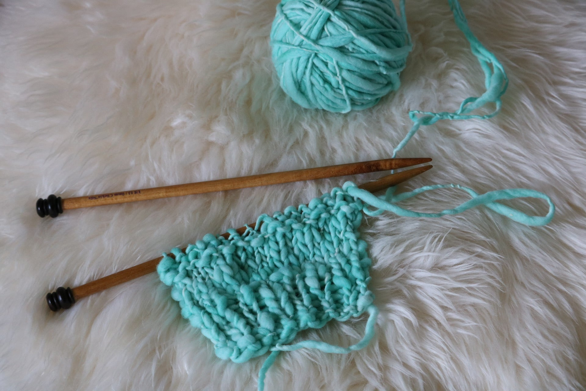 Glacier Depths Thick & Thin Troelli Yarn