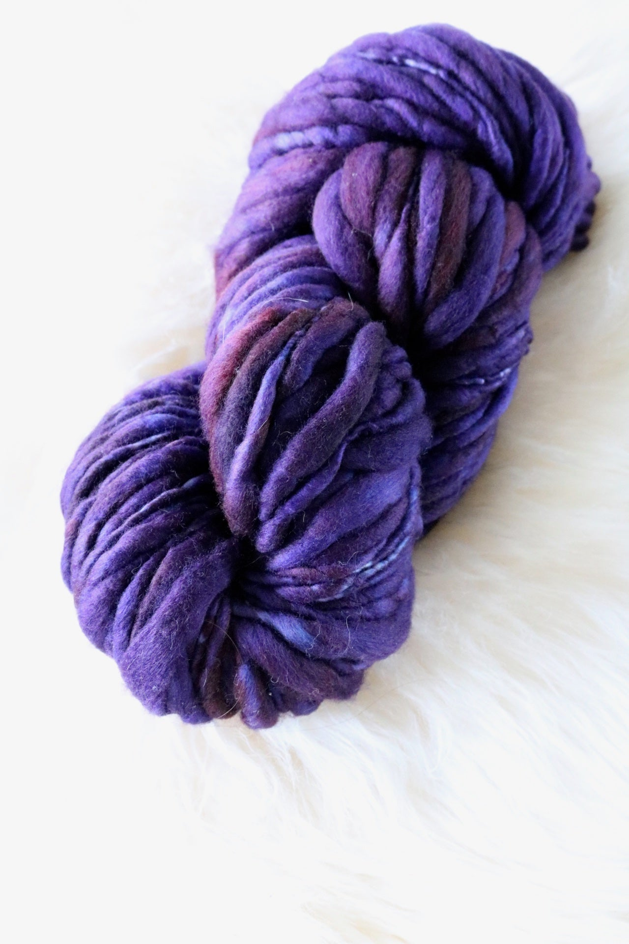 Manganese Earth Thick & Thin Troelli Yarn