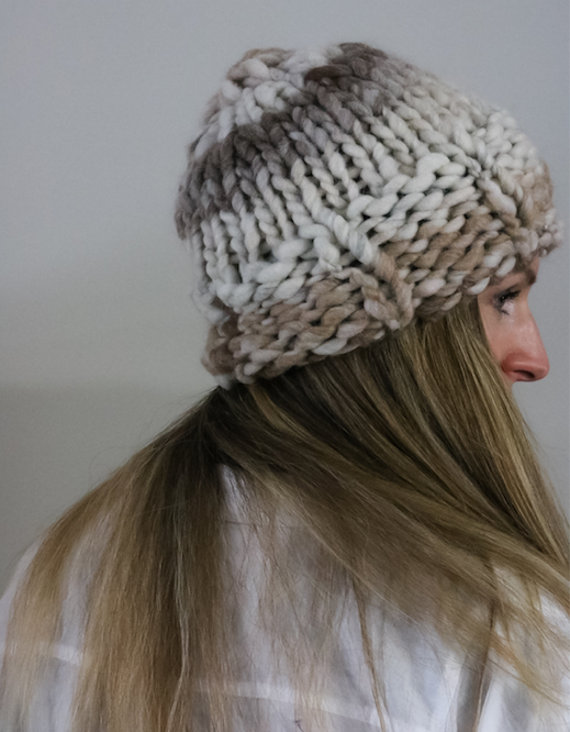 Kay Knit Hat Pattern