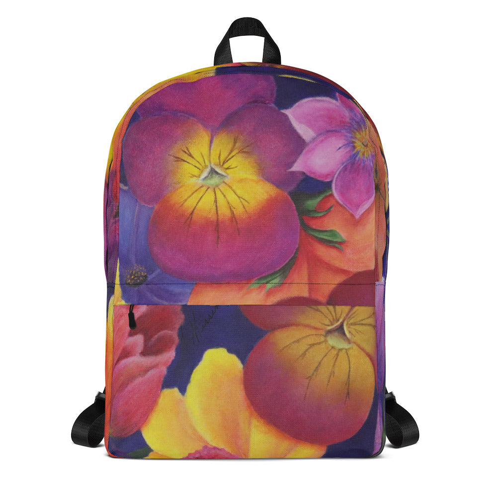 Blume Pansy Backpack