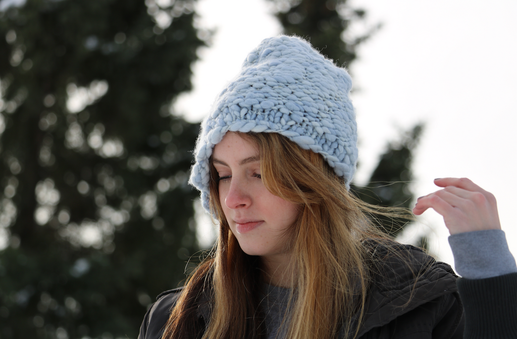Shelby Cable Knit Hat Pattern