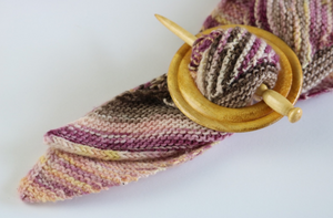 Persian Silk & Mayday Shawl Pin
