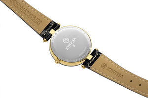 Facet Strass Swiss Ladies Watch J5.614.M
