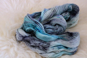 Lace Weight Single Ply Yarn | Ice Princess