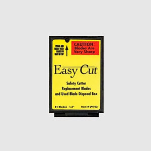 Easy Cut™ Safety Cutter Replacement Blades (81/box)
