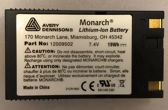 Avery Dennison Monarch® Pathfinder Ultra® Battery
