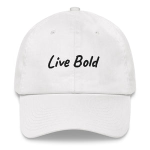 Live Bold Dad hat