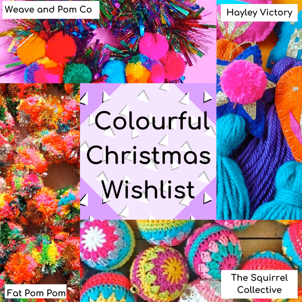 I'm dreaming of a colourful Christmas