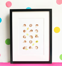 Load image into Gallery viewer, Hedgehog Illustration - unframed giclee print