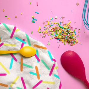 Rainbow Sprinkles Tea Towel