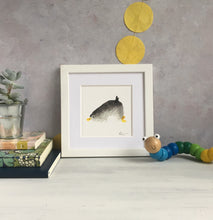 Load image into Gallery viewer, Sleepy Penguin Illustration - unframed mini giclee print