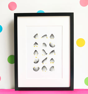 Penguin Illustration - unframed giclee print