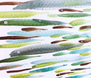 Fish Watercolour Painting