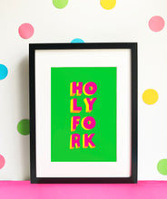Load image into Gallery viewer, HOLY FORK giclee illustration print