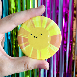 Sunshine 58mm badge