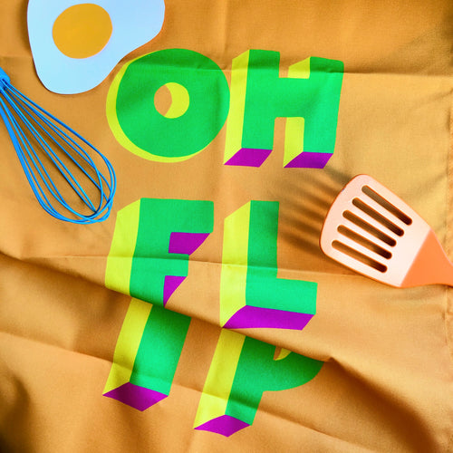 OH FLIP Tea Towel